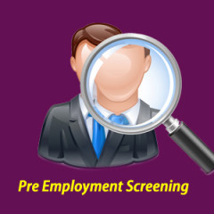 Pre Employment Screening