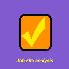 Job site analysis